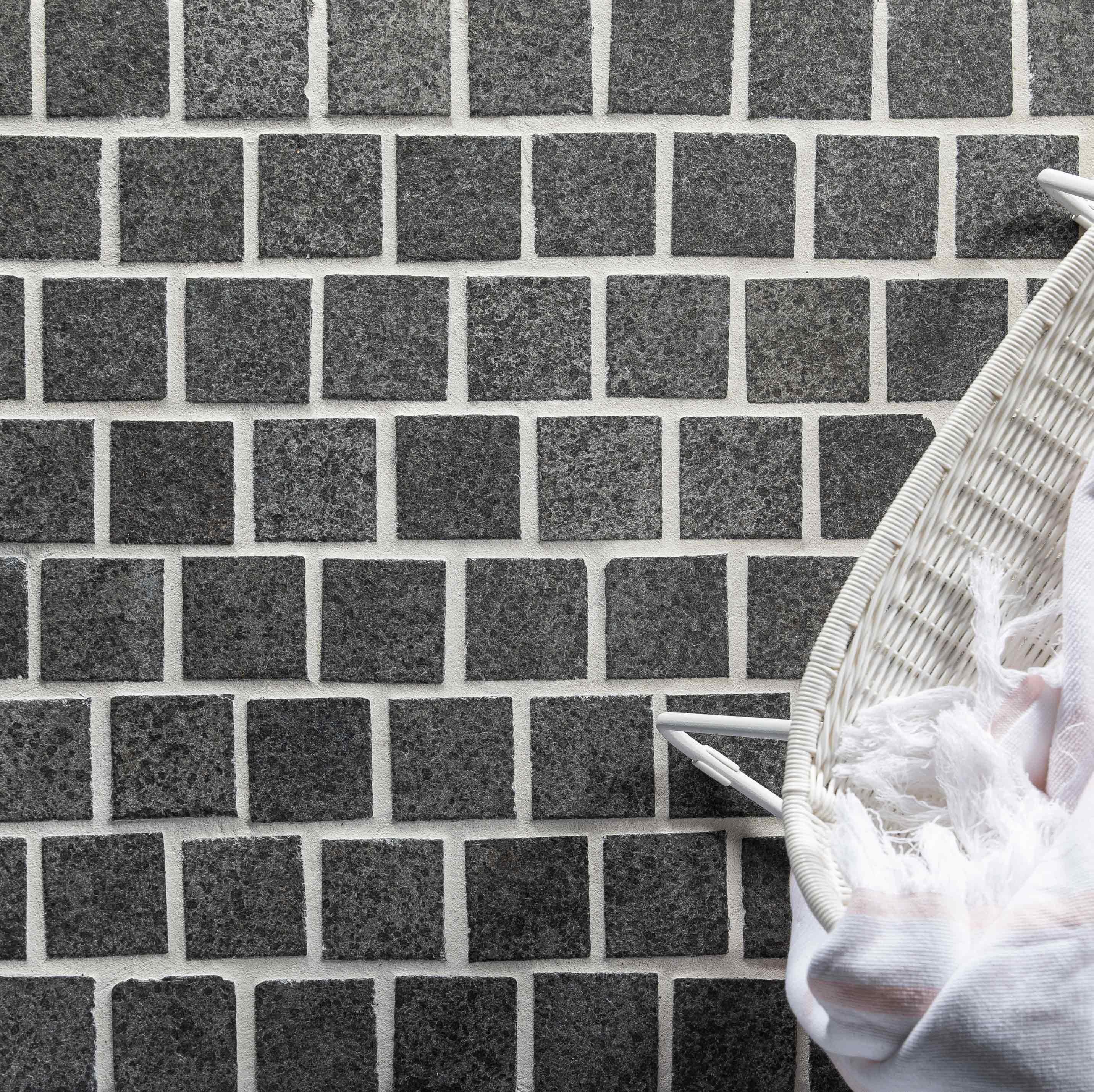 Cobblestones Hero raven-granite-cobblestones-on-mesh
