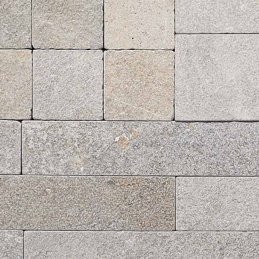 Cobblestones Swatch Ruskea-limestone-cobbles-swatch